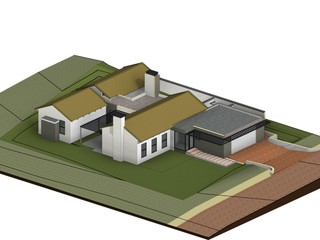 3D View of House