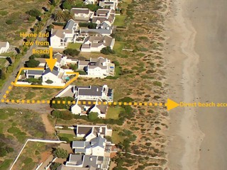 Location of home & Beach